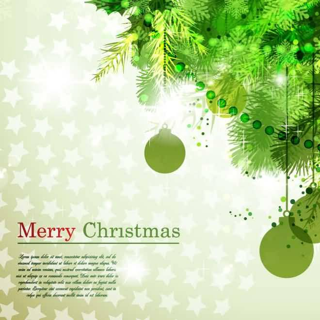 Merry Christmas Cards Image Picture Photo Wallpaper 07