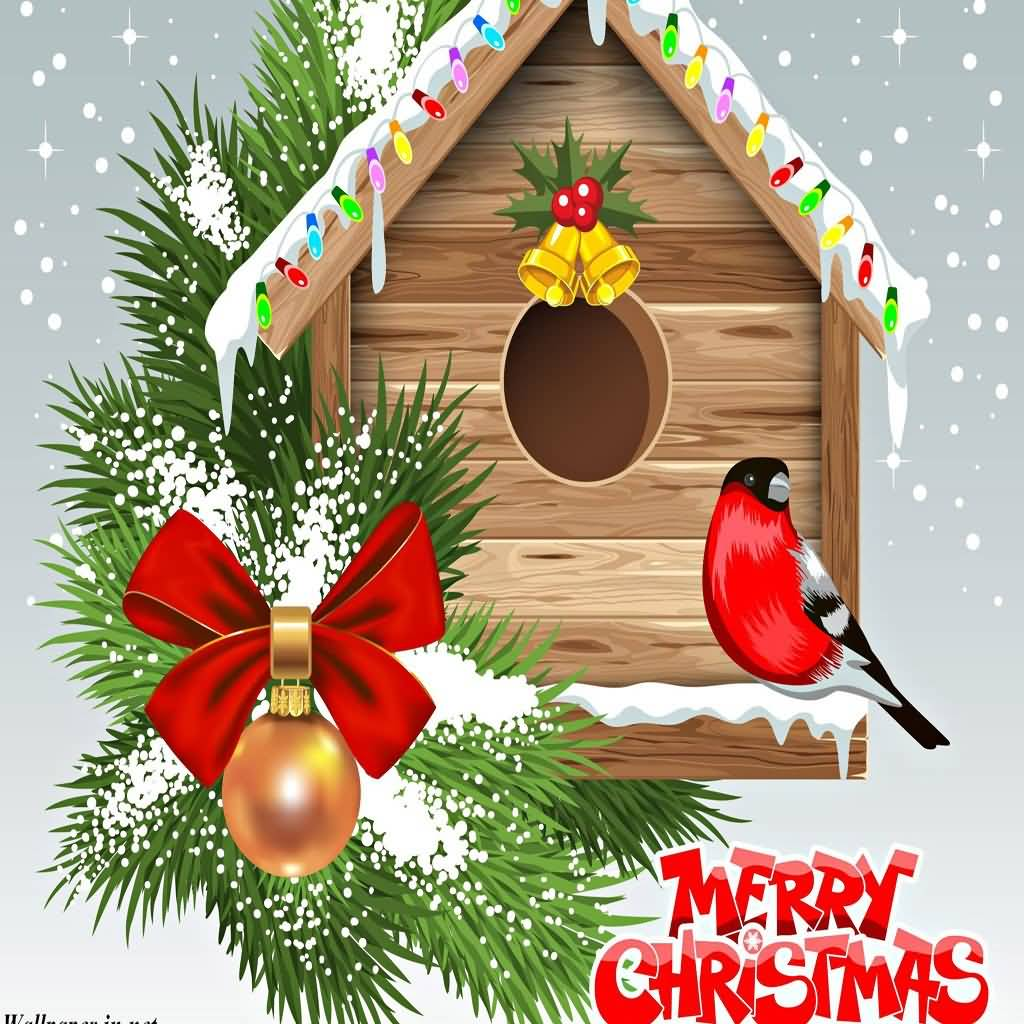 Merry Christmas Cards Image Picture Photo Wallpaper 13