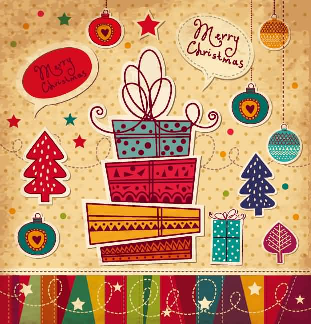 Merry Christmas Cards Image Picture Photo Wallpaper 17
