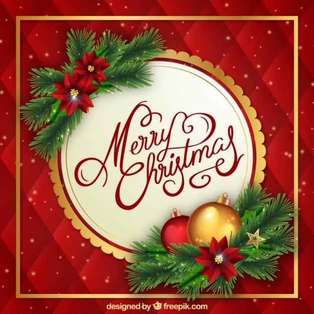 Merry Christmas Cards Template Image Picture Photo Wallpaper 09