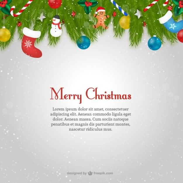 Merry Christmas Cards Template Image Picture Photo Wallpaper 15