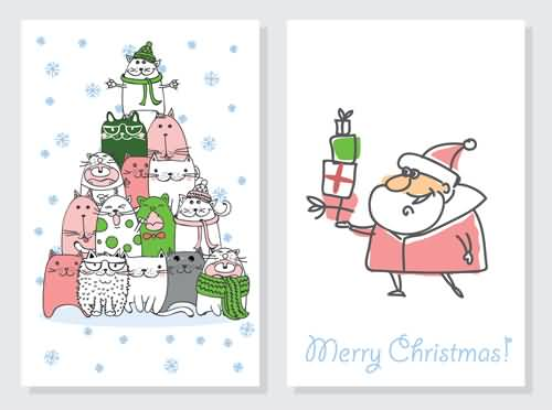 Merry Christmas Cards Template Image Picture Photo Wallpaper 16