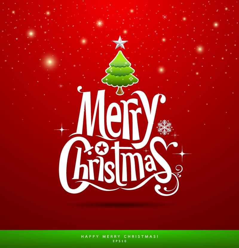 Merry Christmas Cards Vector Image Picture Photo Wallpaper 08