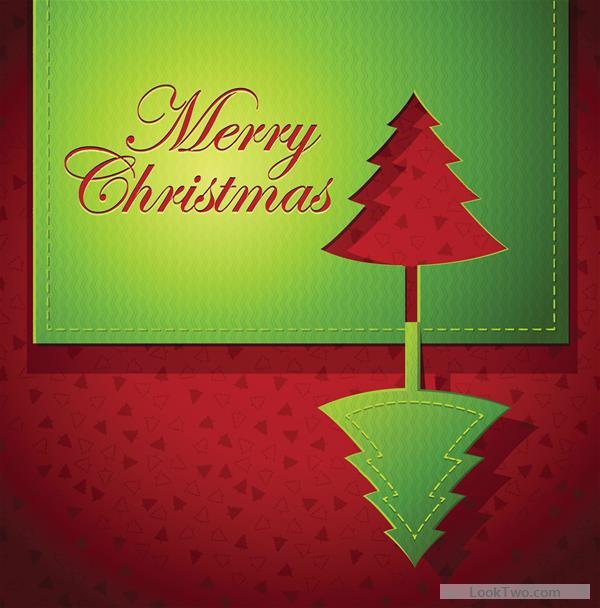 Merry Christmas Cards Vector Image Picture Photo Wallpaper 20