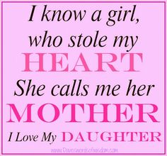 Mom Daughter Love Quotes 16