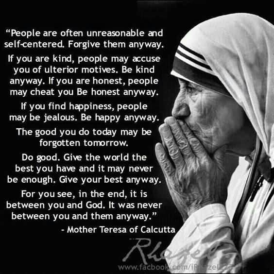 Mother Teresa Quotes Love Anyway 03