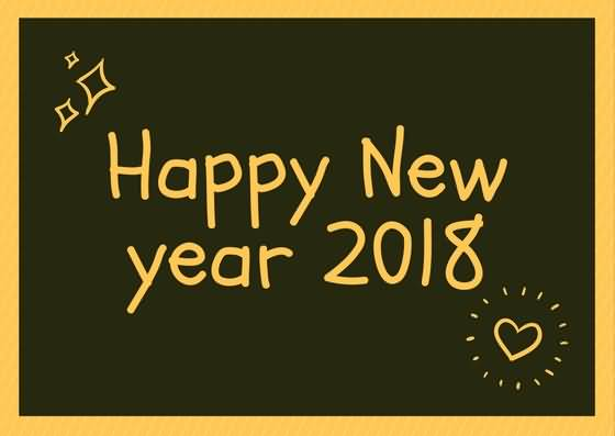 New Year 2018 Status Image Picture Photo Wallpaper 07