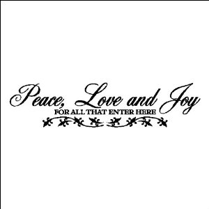 Peace Love Joy Quotes 18