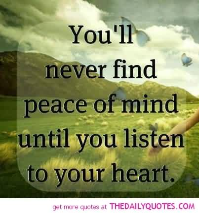 Peaceful Mind Peaceful Life Quotes 04