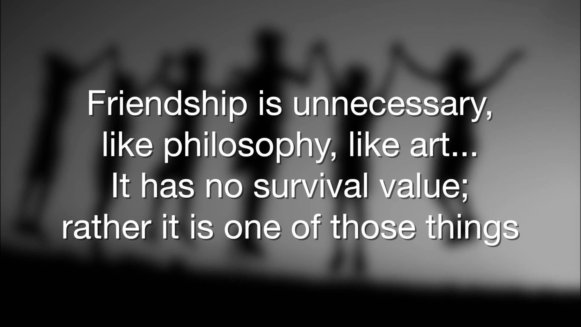 Philosophical Quotes About Friendship 17