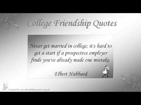 Quotes About College Friendship 05