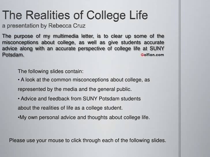Quotes About College Life 10
