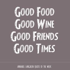 Quotes About Food And Friendship 09