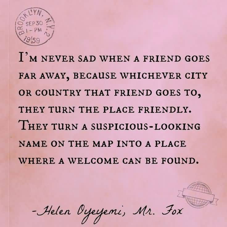 Quotes About Friendship Distance 05