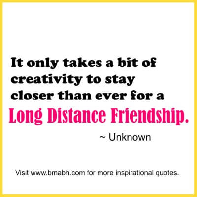 Quotes About Friendship Distance 10