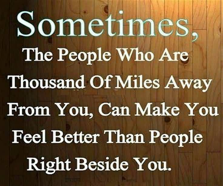 Quotes About Friendship Distance 14