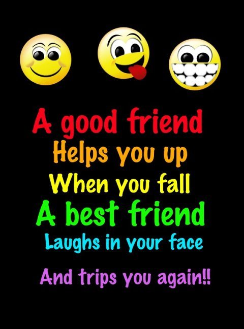 Quotes About Funny Friendship And Life 01