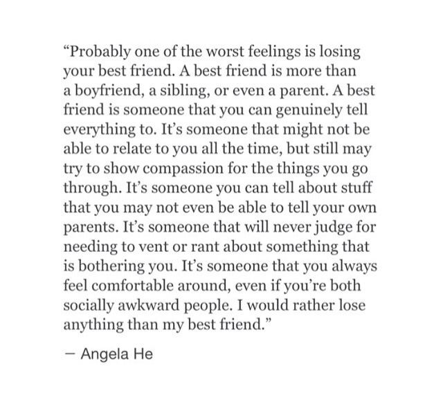 Quotes About Losing A Best Friend Friendship 15