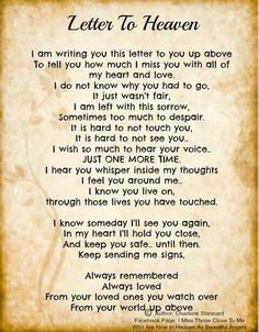 Quotes About Lost Loved Ones In Heaven 09