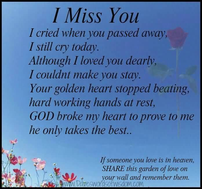 Quotes About Lost Loved Ones In Heaven 12
