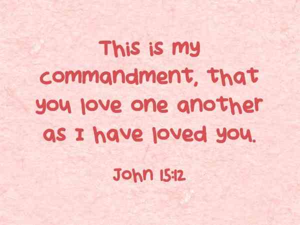 Quotes About Love In The Bible 12