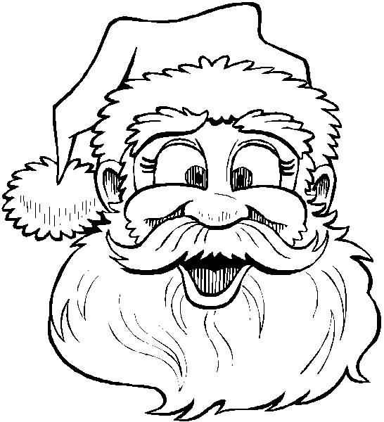 Santa Claus Coloring Pages Image Picture Photo Wallpaper 17
