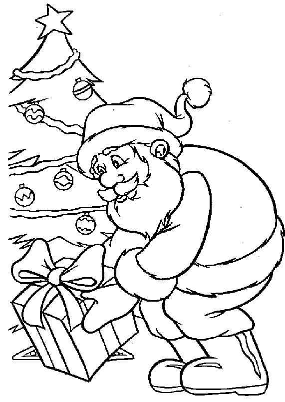 Santa Claus Coloring Pages Image Picture Photo Wallpaper 18