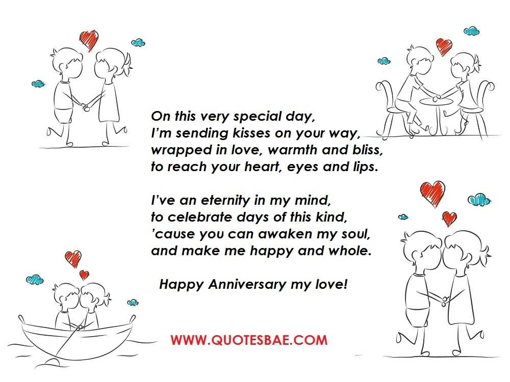 Top 10 Best Anniversary Poems For Her (WIFE) Graphic