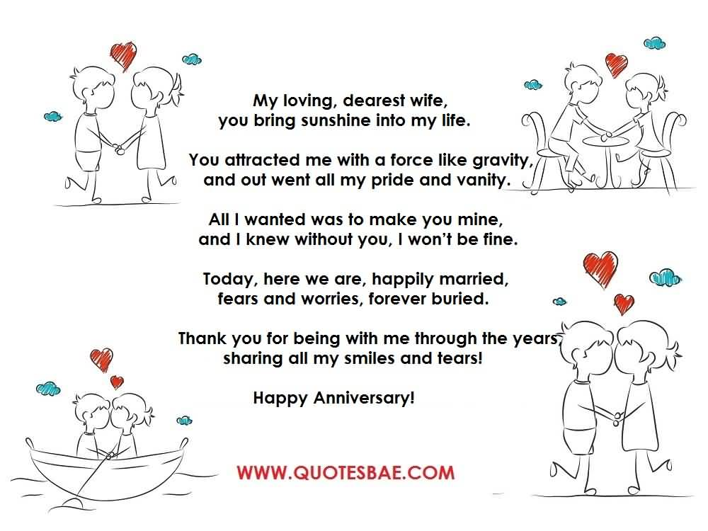Top 10 Best Anniversary Poems For Her Wife Image Quotesbae