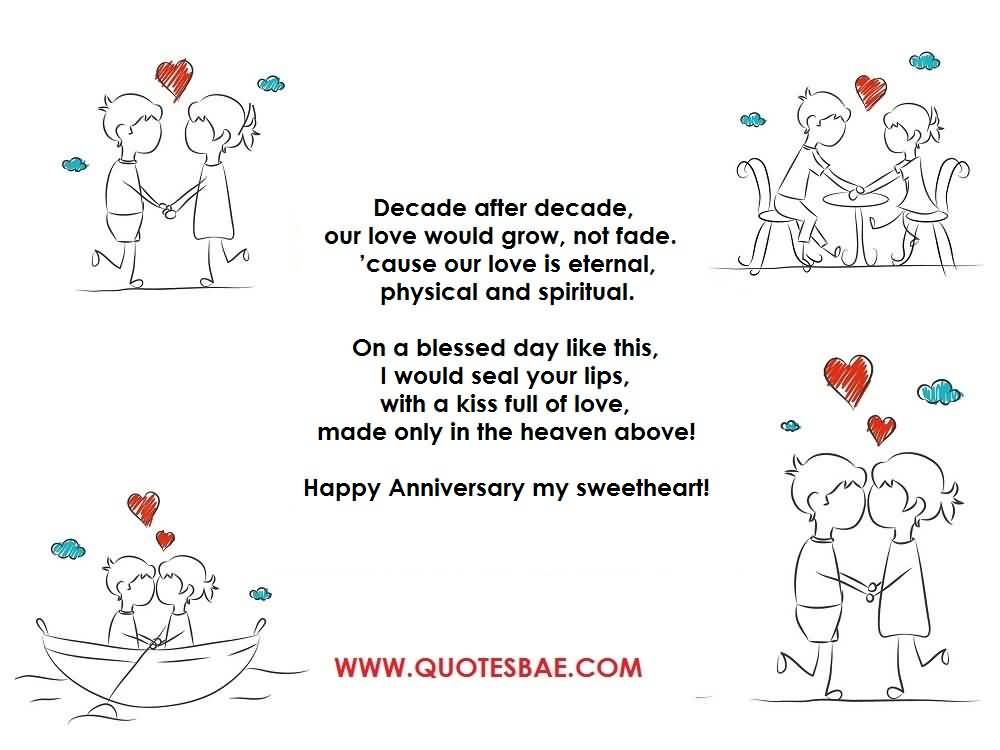 Top 10 Best Anniversary Poems For Her (WIFE) Photo