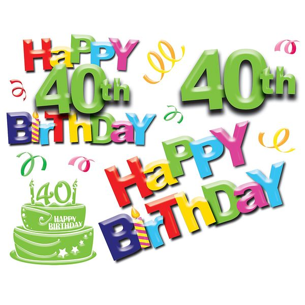 Very 40th Birthday Images Graphics Free Memes