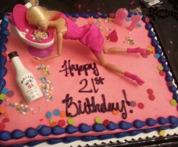 Very Funny 21st Birthday Pics Joke