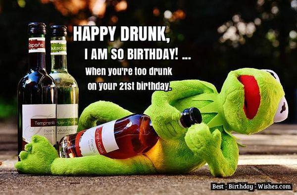Very Funny 21st Birthday Pics Jokes