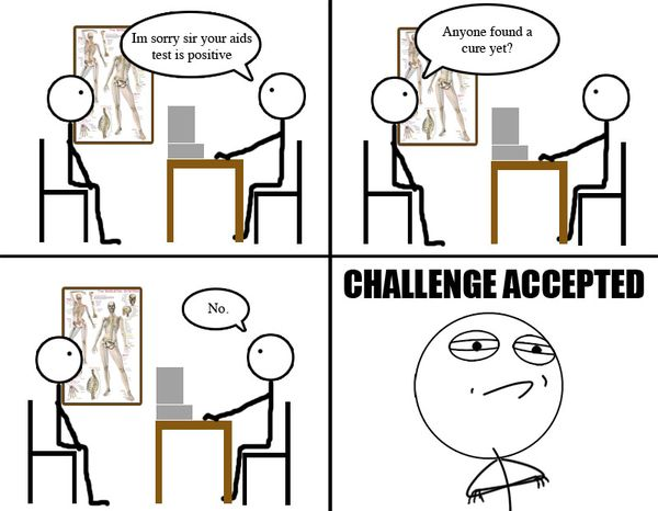 Very Funny Challenge Accepted Meme Images