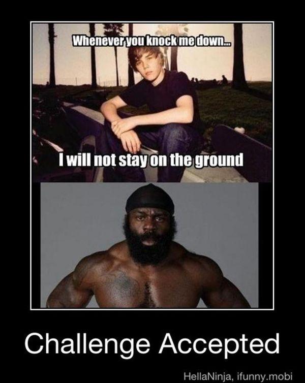 Very Funny Challenge Accepted Meme Joke