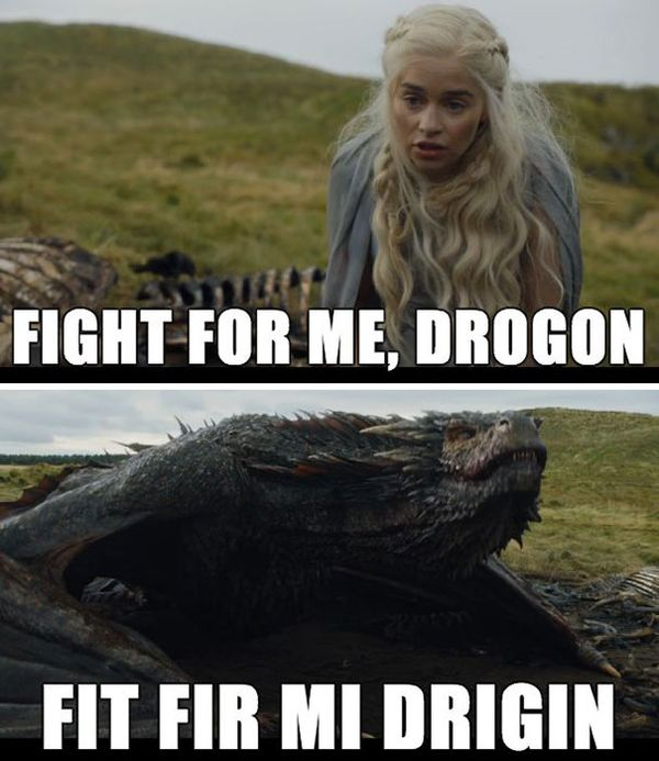 Very Funny Game of Thrones Memes Images