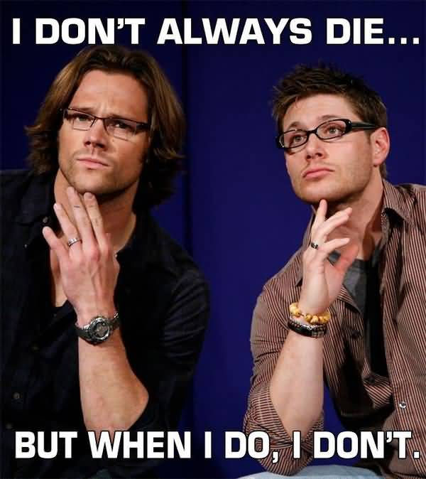 Very Hilarious Supernatural Memes Picture