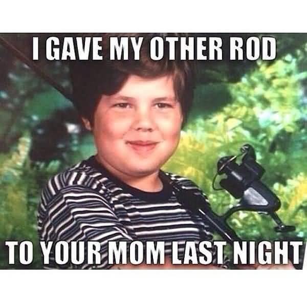 Very funny carp fishing meme image