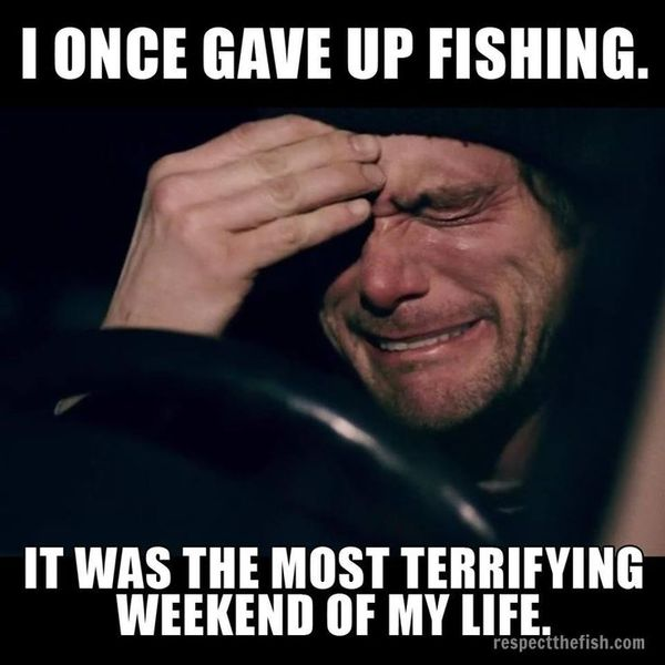 Very funny carp fishing meme joke