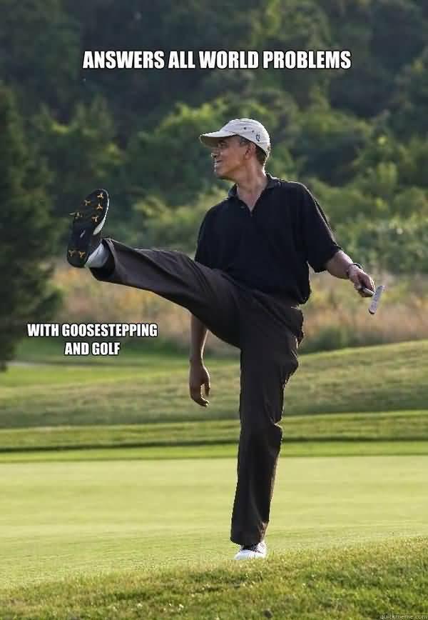 Very funny golf photos joke