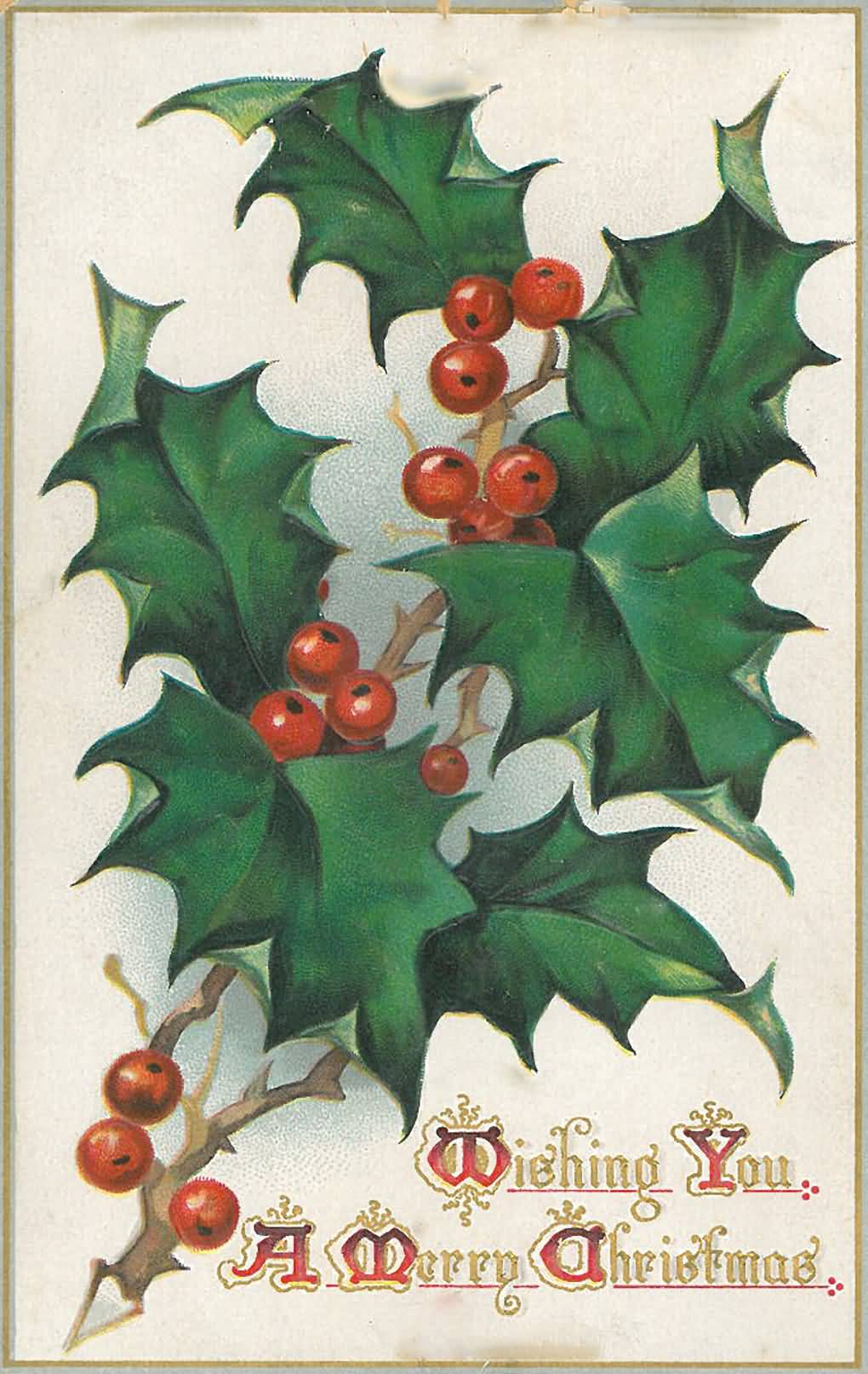 Vintage Christmas Cards Image Picture Photo Wallpaper 13