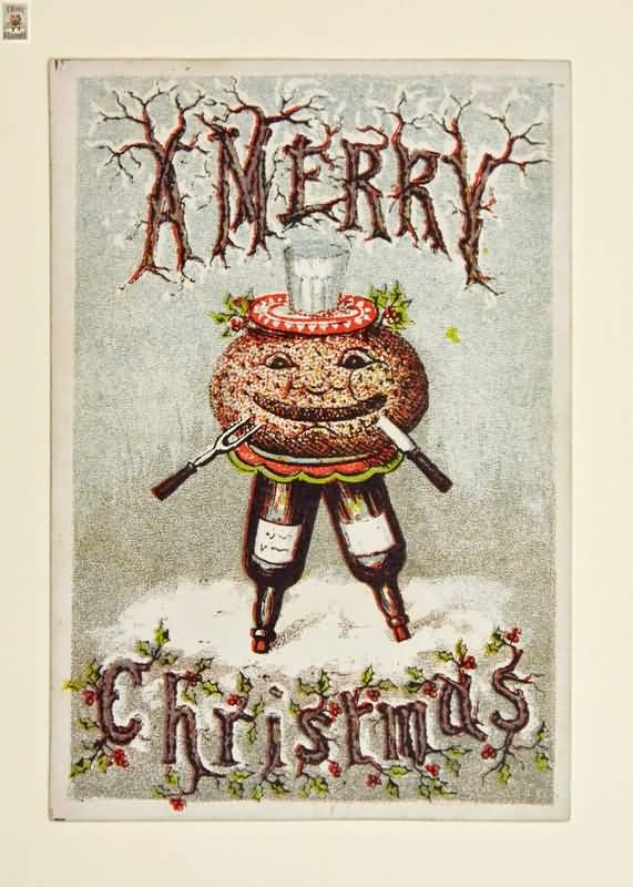 Vintage Christmas Cards Image Picture Photo Wallpaper 16