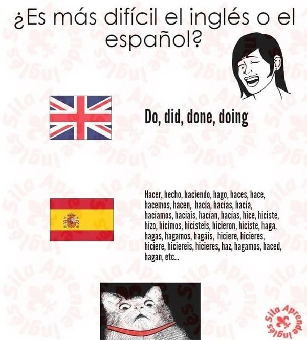 Amusing spanish memes in english language image