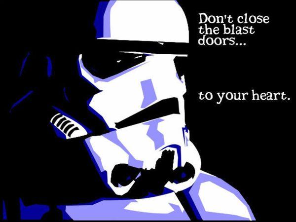 Amusing star wars stormtrooper valentine meme jokes