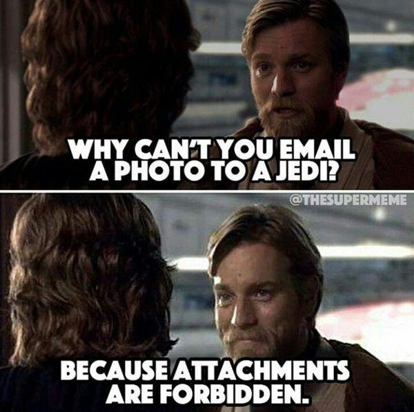 Amusing star wars thank you meme photo