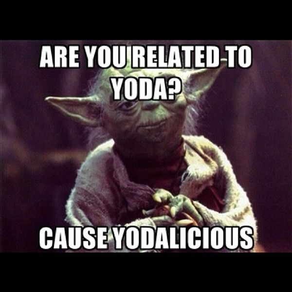 Amusing star wars yoda funny memes picture
