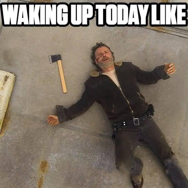 Amusing walking dead season 7 memes jokes