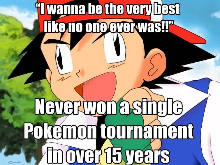 Ash Memes Funny Image Photo Joke 15