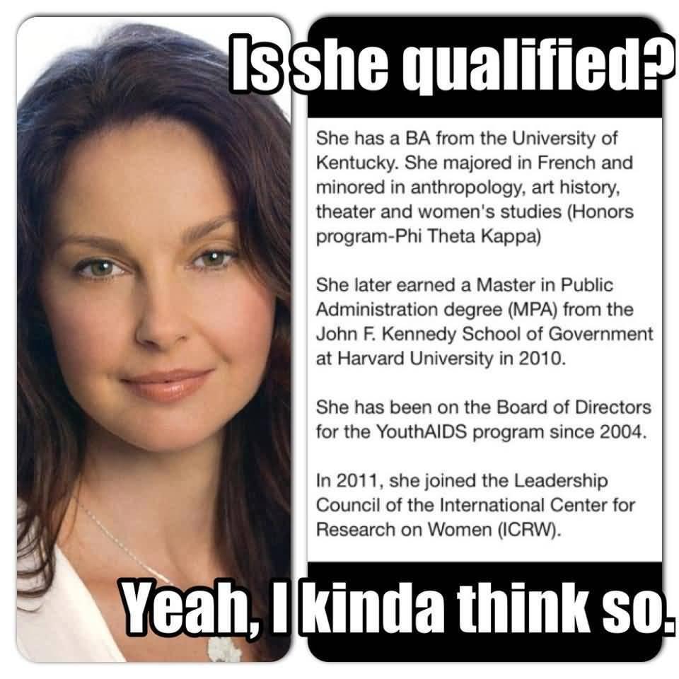 Ashley Judd Meme Funny Image Photo Joke 14