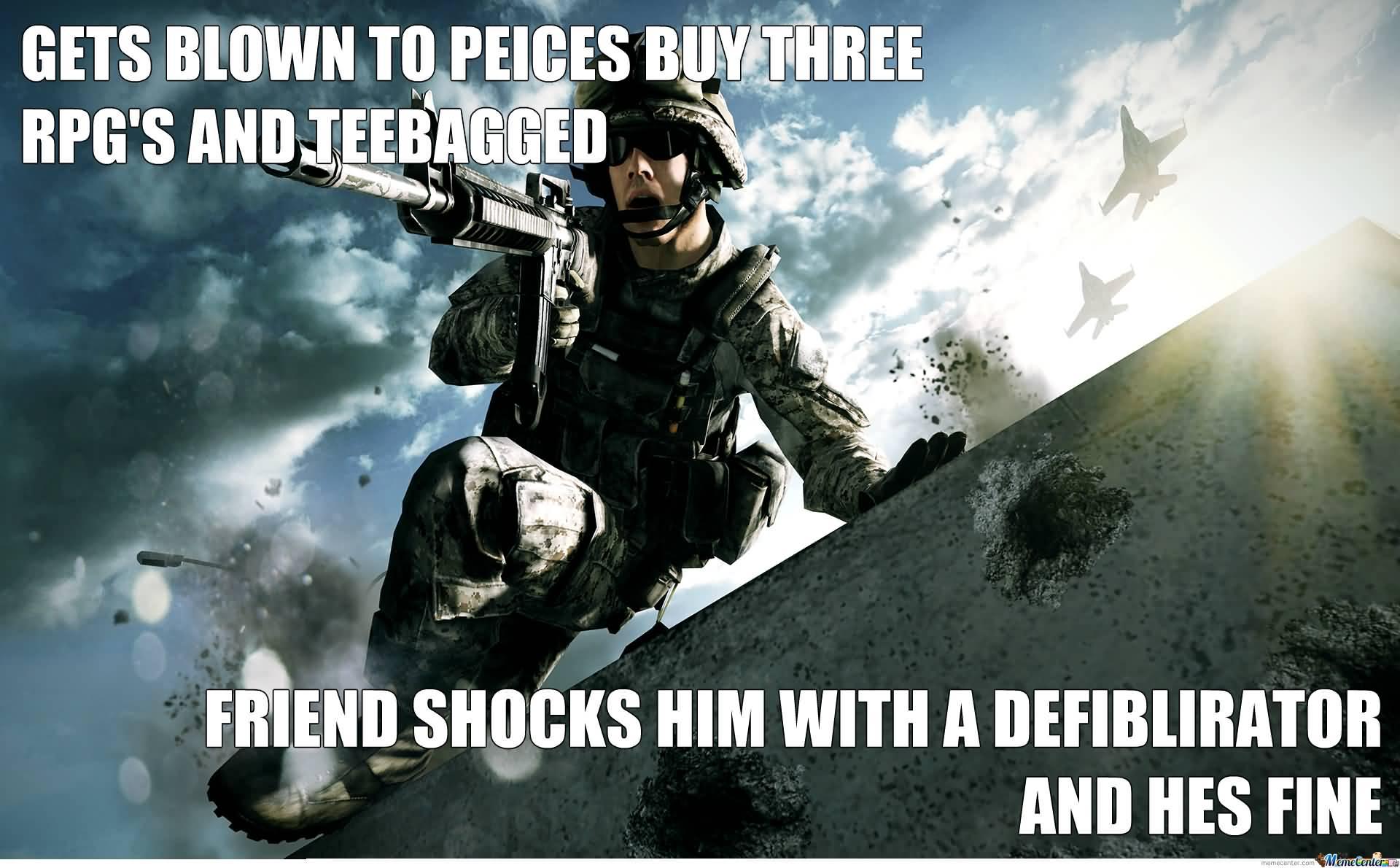 Battlefield Meme Funny Image Photo Joke 12